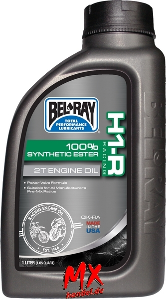 BEL-RAY H1-R Racing Synthetic Ester 2T